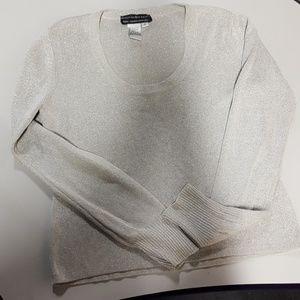 Quest-ce Que C'est Sweaters - Silver Blouse